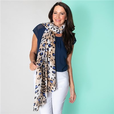 Supersoft Animal Print Scarf