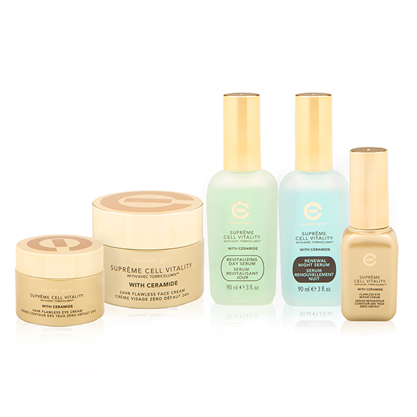 Elizabeth Grant Supersize Supreme and Ceramides 5pc Kit (Face Cream, Eye Cream, Day, Night & Eye Serum) No Colour
