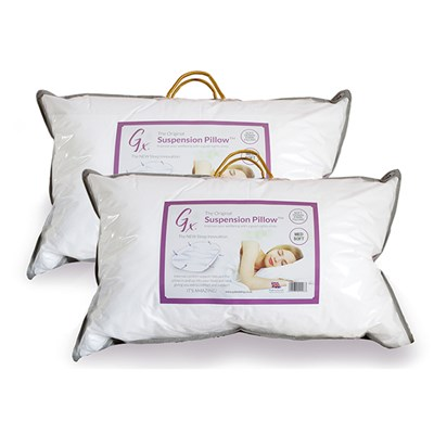 GX Suspension Medium Soft Pillow (Twin Pack)