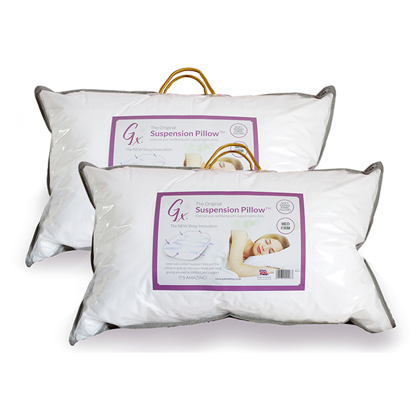 GX Suspension Medium Firm Pillow (Twin Pack) No Colour