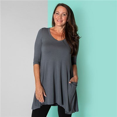 Join Longline Pocket Tunic