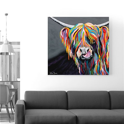 Steven Brown Heather McCoo Large Canvas 76 x 76cm