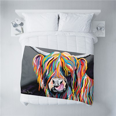 Steven Brown Heather McCoo Fleece Blanket 100 x 150cm