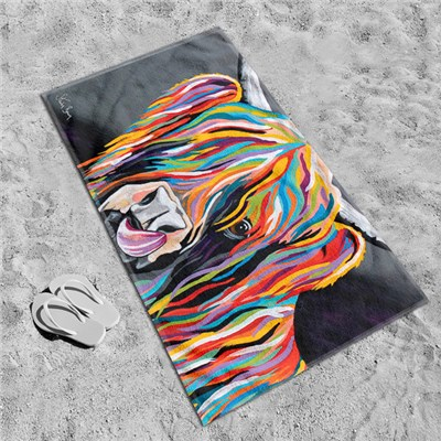 Steven Brown Heather McCoo 80 x 160cm Beach Towel