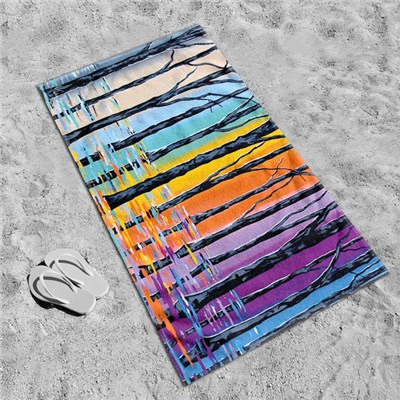 Steven Brown Forests Of Argyle 80 x 160cm Beach Towel