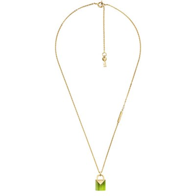 Michael Kors Colour Padlock Pendant Necklace