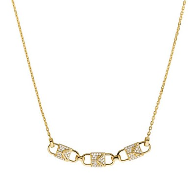 Michael Kors Padlock Trio Jewelled Chain