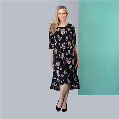 Nicole Hi Lo Floral Dress