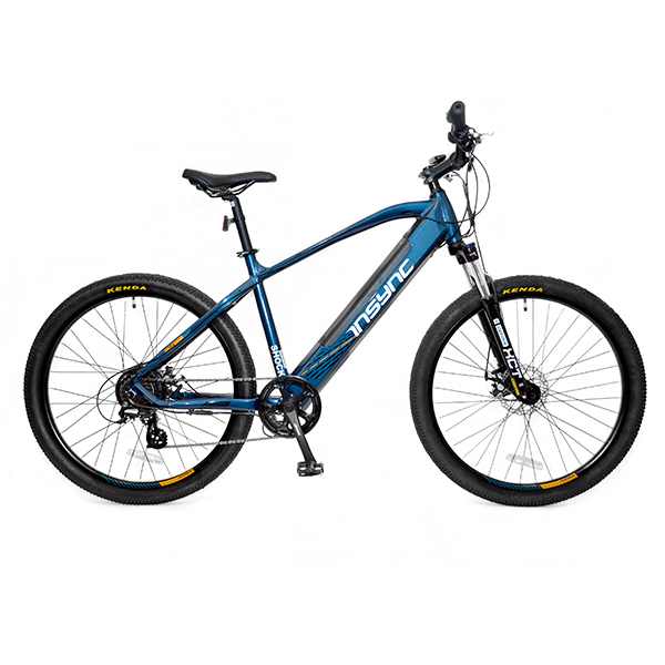 InSync Shock 36V 250W 7-Speed Electric Mountain Bike Black/Teal