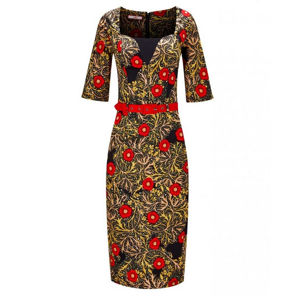 Joe Browns Wild At Heart Dress Black Multi
