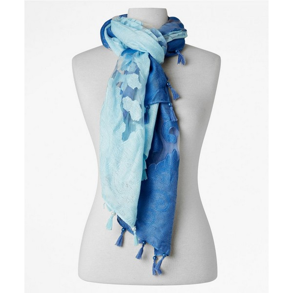Joe Browns Mesmerising Ombre Scarf Blue