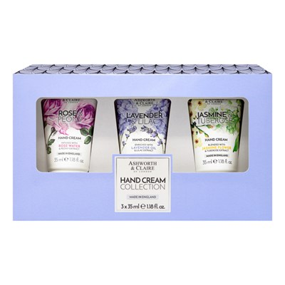 Ashworth & Claire of London Hand Cream Collection (3 x 35ml)