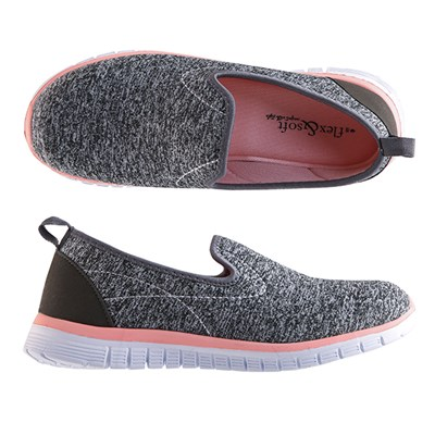 Flex and Soft Sporty slip on Trainer