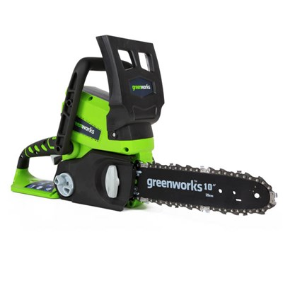 Greenworks 24v 25cm Cordless Chainsaw (Tool Only)