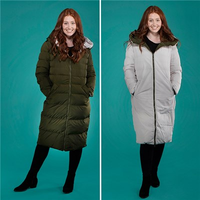 Rino and Pelle Keila Reversable Padded Jacket
