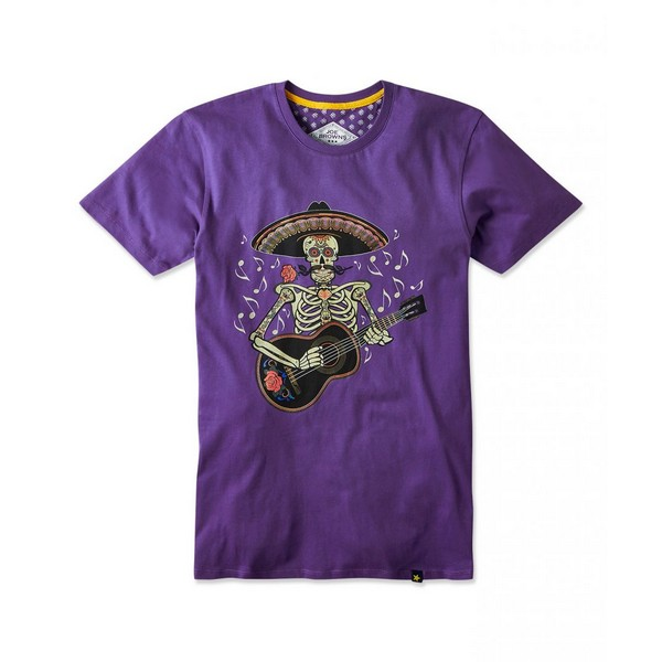 Joe Browns Salsa Guitar Tee Purple