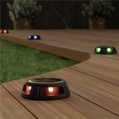 Pair of Tap Dance Solar Decking Lights M