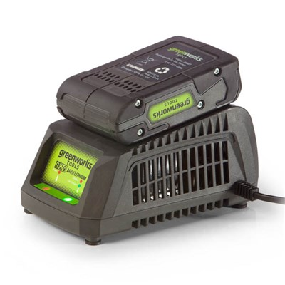 Greenworks 24V 2ah Lithium-Ion Battery & Fast Charger Kit