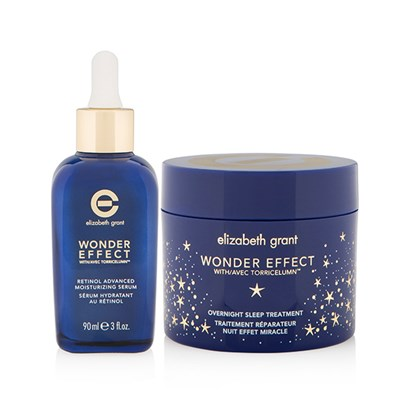 Elizabeth Grant Wonder Effect 2 Piece Intense Repair Sleep Treatment Duo 90ml and 100ml