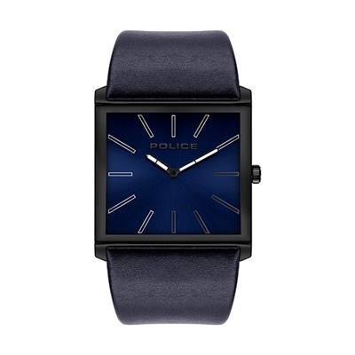 Police Gent's Skyline Watch with Genuine Leather Strap