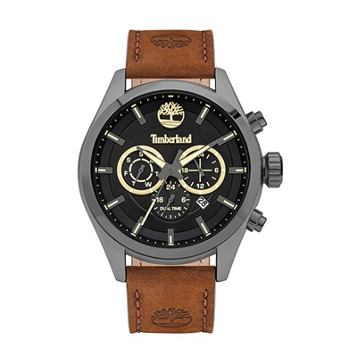 Timberland Gent's Ashmont Chronograph Watch with Genuine Leather Strap