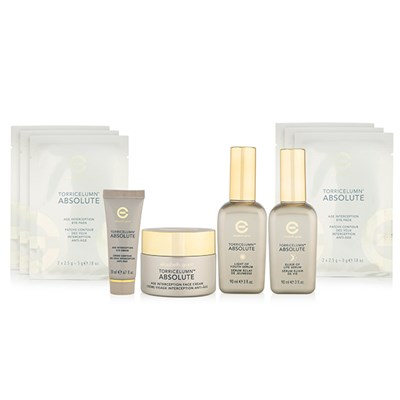 Elizabeth Grant Torricelumn Absolute Kit - Day & Night Serums, Face & Eye Creams, & 6 pairs Eye Pads