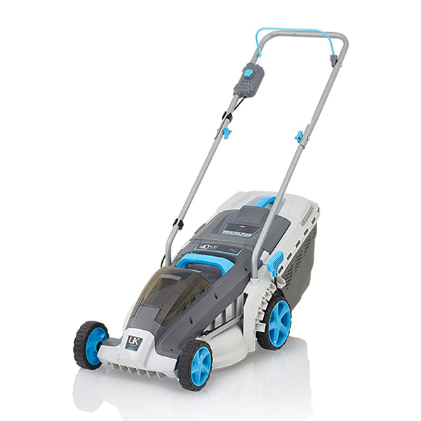 Swift 37cm 40v Wide Cordless Electric Lawnmower with Battery and Charger - EB137CD2 No Colour