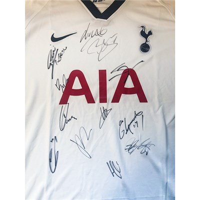 Tottenham Multi Signed Football Shirt