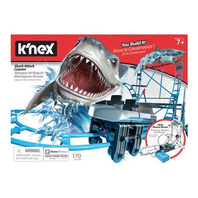 KNEX Shark Attack Roller Coaster Building Set