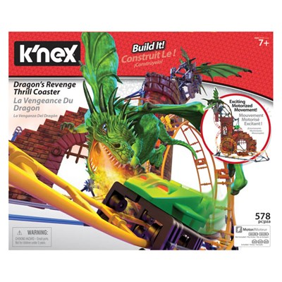 KNEX Dragons Revenge Roller Coaster Building Set