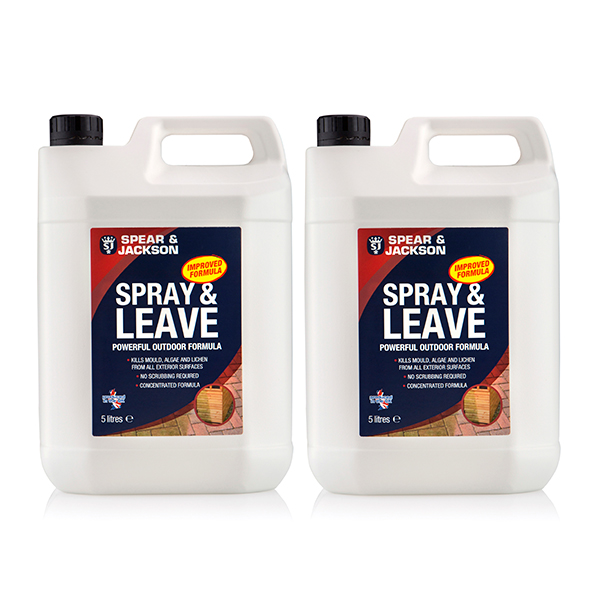 Spear and Jackson Spray and Leave 5L Plus Additional 5L No Colour