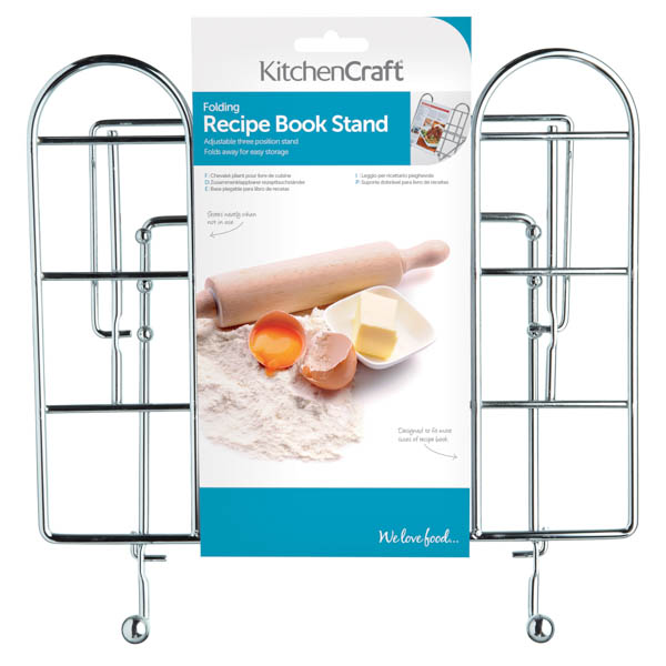 Kitchen Craft Adjustable Folding Recipe Book Holder No Colour