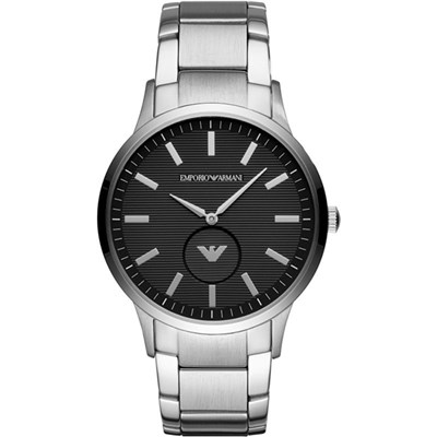 Emporio Armani Gents Dial Watch with Stainless Steel Bracelet