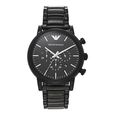 Emporio Armani Gents Dress Watch with St