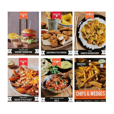 Spicentice Family Favourites Bundle - Pack of 6