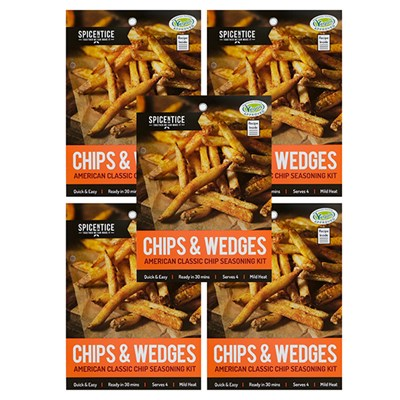 Spicentice Gourmet Chip Seasoning Sachets x 5