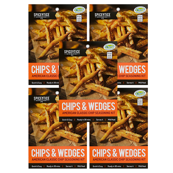 Spicentice Gourmet Chip Seasoning Sachets x 5 No Colour