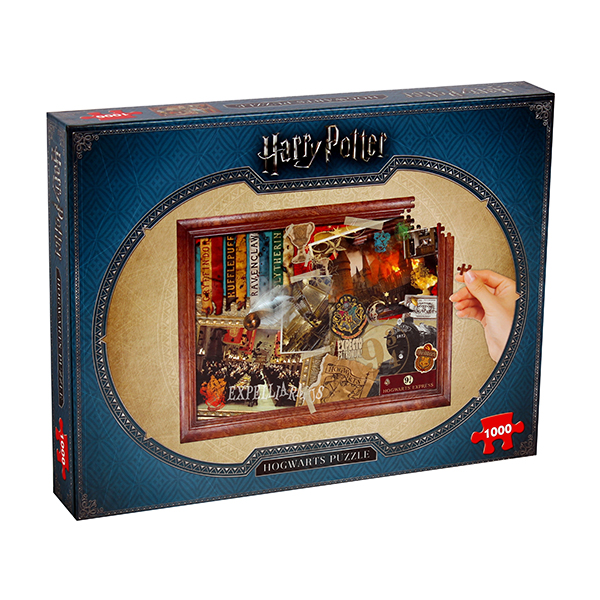 Harry Potter Collector's 1000-Piece Puzzle No Colour