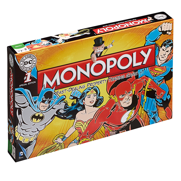 Monopoly - DC Comics Retro No Colour