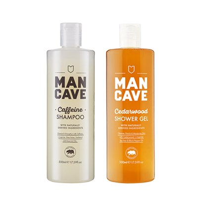 Mancave Shower Bundle ( Shampoo and Body