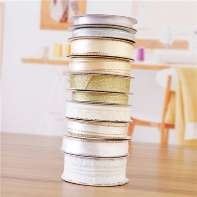 Fantastic Ribbons Sparkle and Lace Collection - 10 Rolls of Ribbon