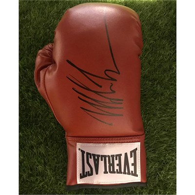 Iron Man Mike Tyson Personally Signed Boxing Glove