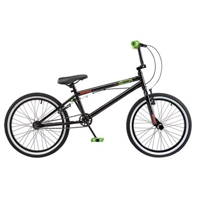 Rooster Jammin Single Speed BMX, 20in Wheel, Black