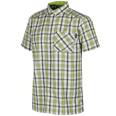 Regatta Mens Mindano III Checked Short Sleeve Shirt