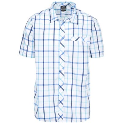 Trespass Mens Arviat Short Sleeve Check Shirt