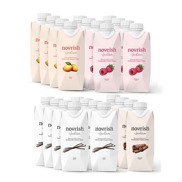 Nourish by Jane Clarke Natural Meal Replacements - 24 Meals No Colour