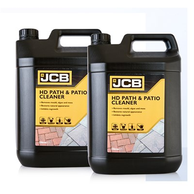 JCB Heavy Duty Path, Patio and Deck Cleaner 2 x 5L