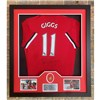 Ryan Giggs Shirt with FA Cup Medal Signed
