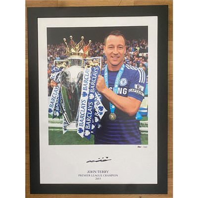 John Terry Print - Signed