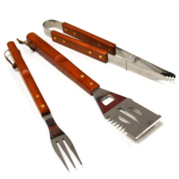 BBQ Tool Set No Colour